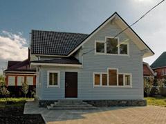 Фото 1405 - дом из бруса 9х9м, 130м²