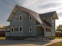 Фото 1407 - дом из бруса 10.6х12.1м, 179м²