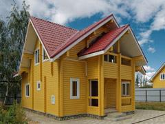 Фото 1409 - дом из бруса 8х9м, 109 м²