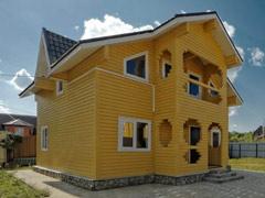 Фото 1410 - дом из бруса 8х9м, 117 м²