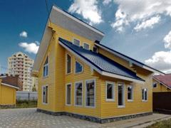 Фото 1412 - дом из бруса 9х9м, 106 м²