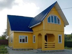 Фото 1413 - дом из бруса 10х7м, 120 м²