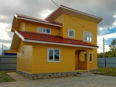 Фото 1414 - дом из бруса 10х8м, 95 м²