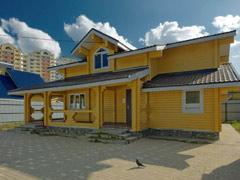Фото 1415 - дом из бруса 11х8м, 130 м²