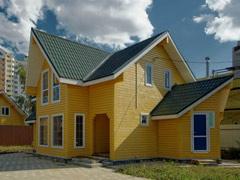 Фото 1416 - дом из бруса 14х8.5м, 121 м²
