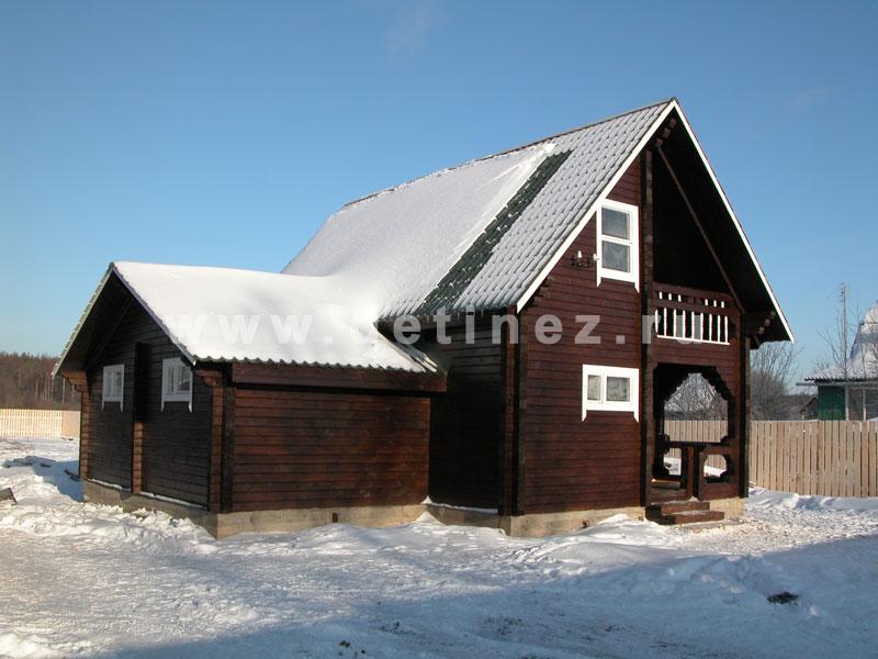 Дом 536 из клееного бруса