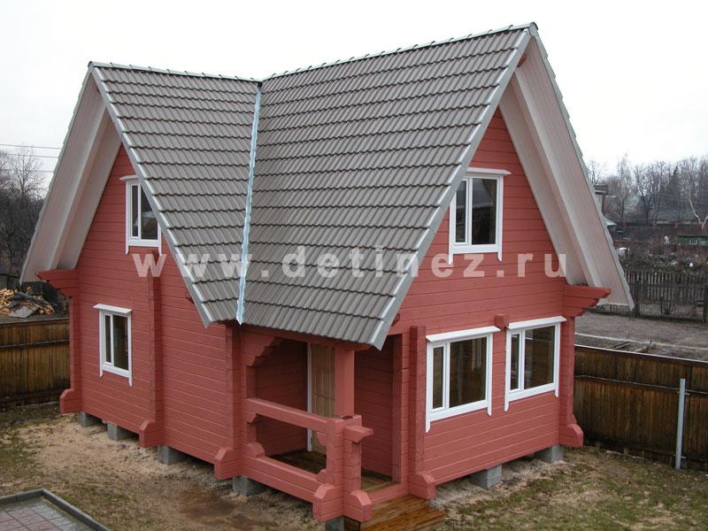 Дачный дом 538 из бруса