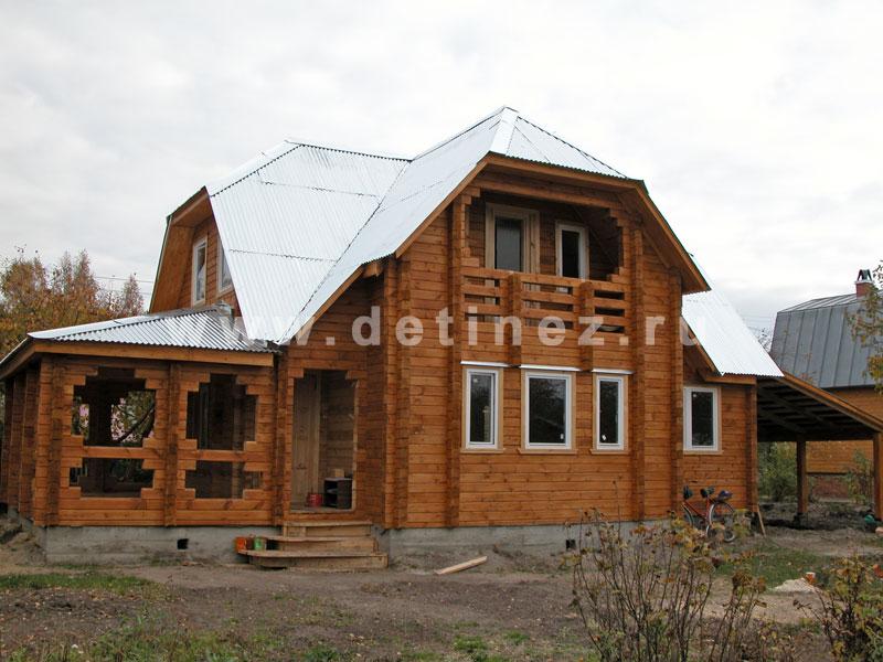 Дом 510 из клееного бруса