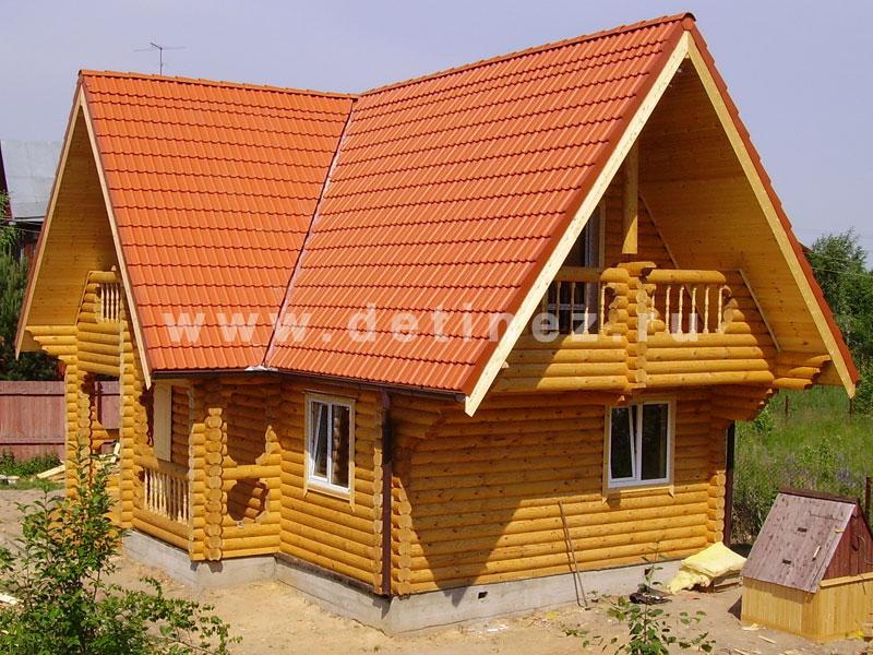 Дом 422 из бревна