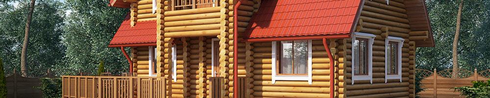 Деревянные дома цены на оцилиндрованного бревна