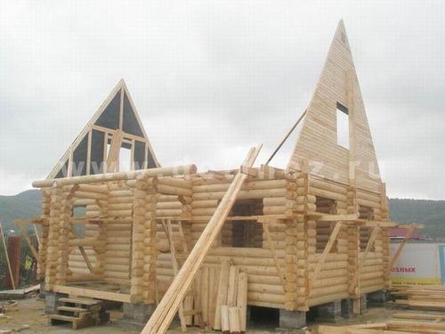 Технология строительства бани