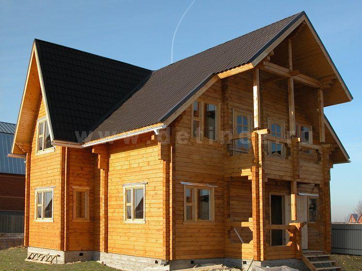 Дом из клееного бруса 151 9х9м