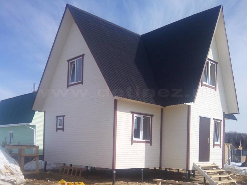 Каркасный дом 2069