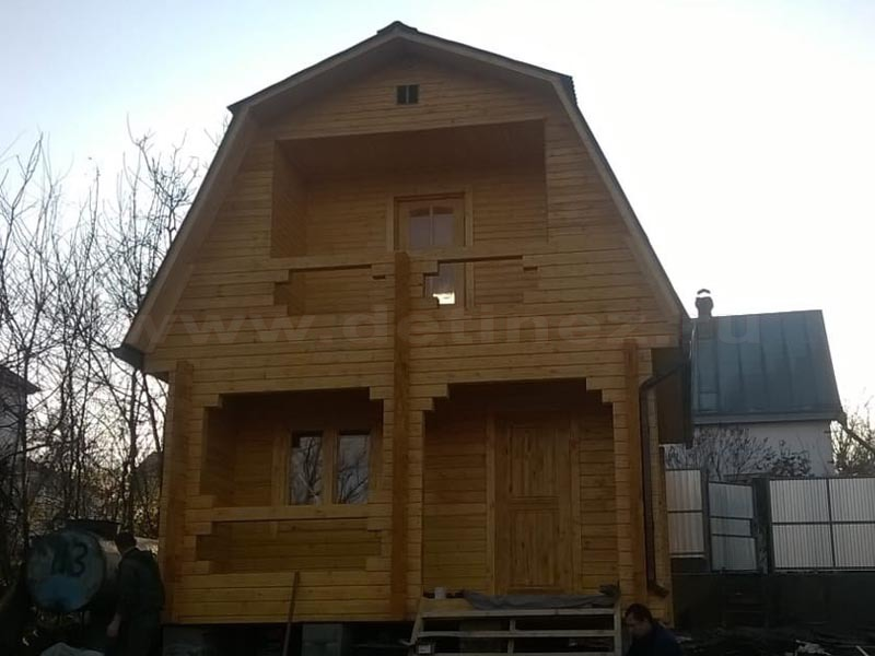 Дом из бруса 1861
