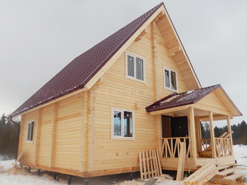 Дом из клееного бруса 1814