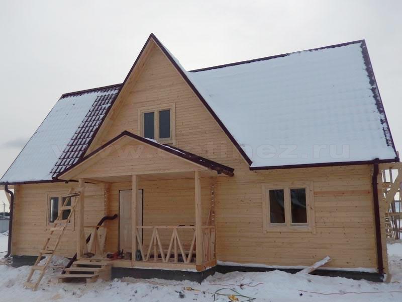 Каркасный дом 1424