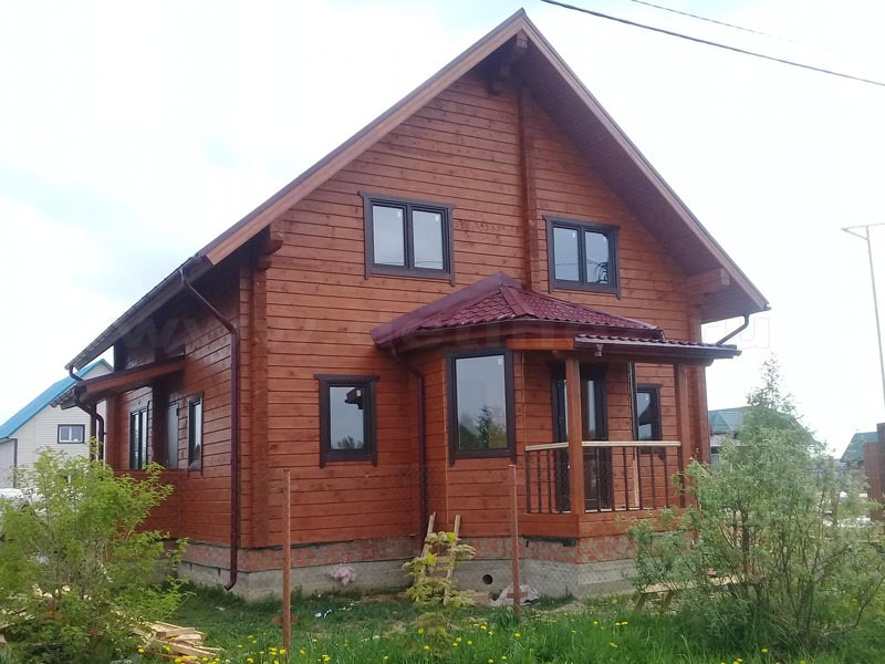 Дом из бруса 2129