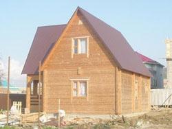 Дачный дом 370 из бруса