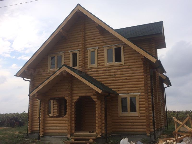 Дом 405 из бревна