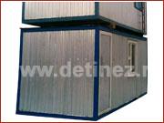 Блок-контейнер 6х2,5м установка в 2 этажа