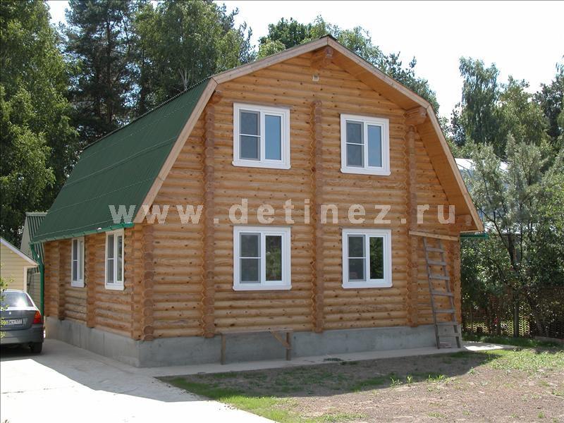 Дома из оцилиндрованного бревна 10х12м