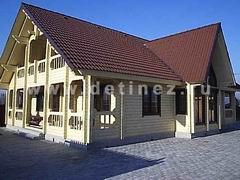 Дом из бруса 11х15м