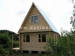 Брусовые дома 4х5м