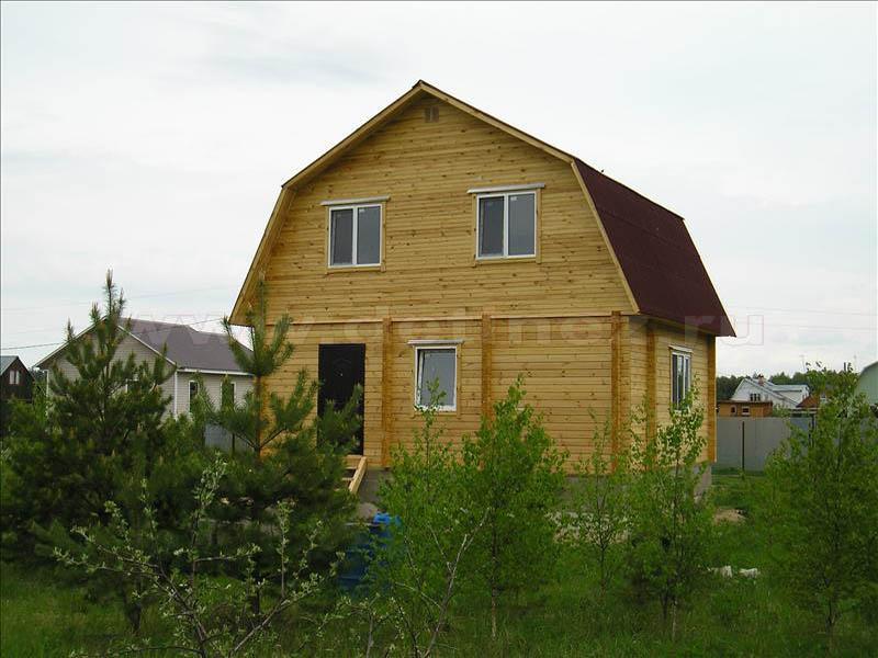 Дачный дом 368 из бруса
