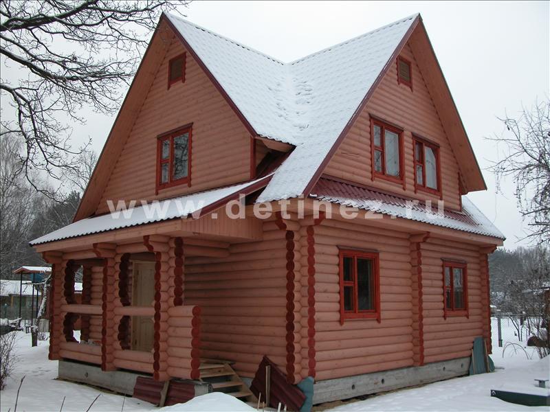 Дом из бревна 115 8х9м