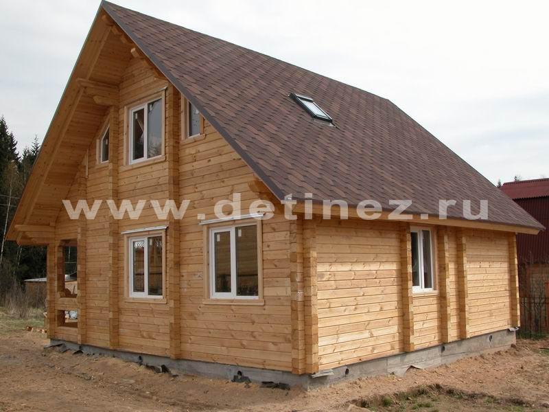 Дома из клееного бруса 11х11м