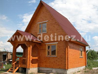 Дома из клееного бруса 5х6м