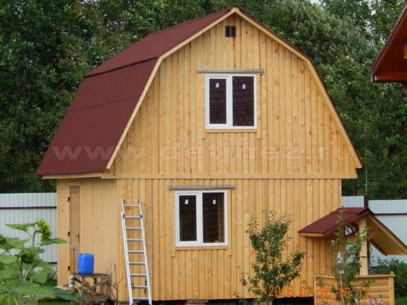 Каркасный дом 2054