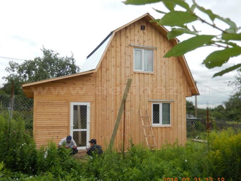Каркасный дом 2055