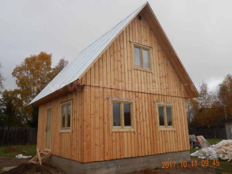 Каркасный дом 164 6х6м
