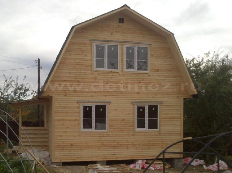 Каркасный дом 2084