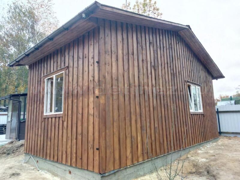 Каркасный дом 2092