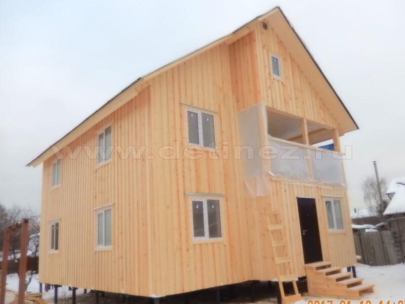 Каркасные дома 172 8х9м