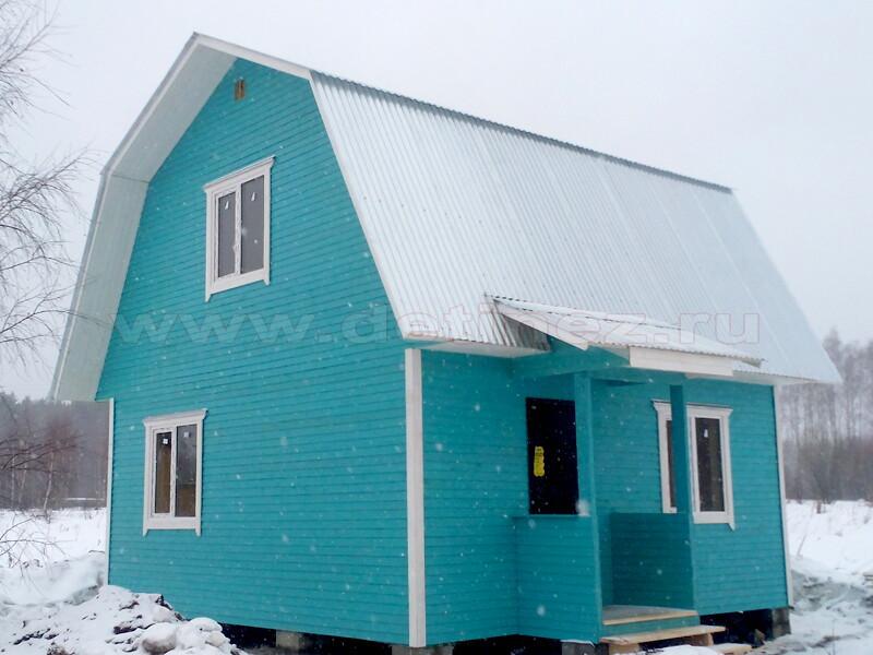 Каркасный дом 163 5х6м