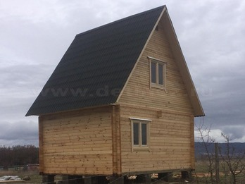 Дом из бруса 2074
