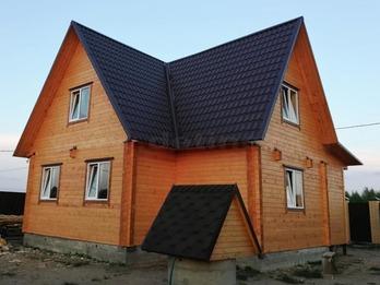 Дом из бруса 2225