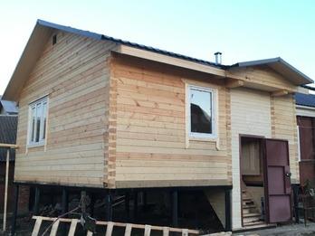 Каркасный дом 2052