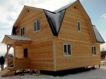 Каркасный дом 2106