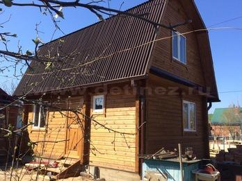 Садовый дом 125 из бруса