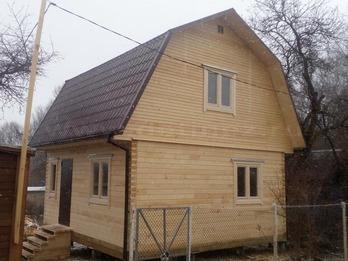 Дом из клееного бруса 1229