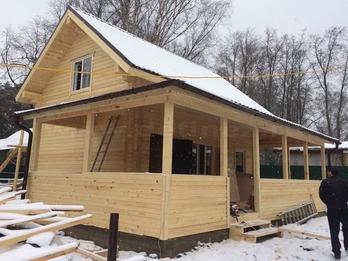 Дом 1170 из бруса