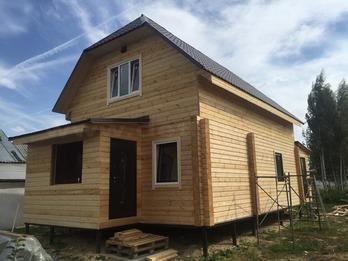 Дом из бруса 2218