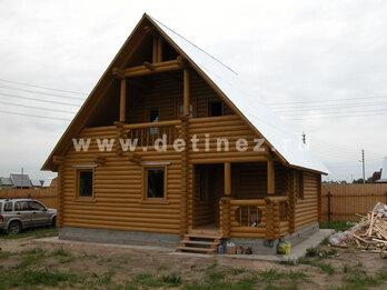 Дом из бревна 113 8х8м