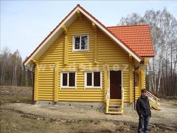 Дом 204 из бревна
