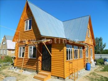 Дачный дом 374 из бревна