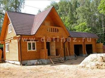 Дом 35 из бревна
